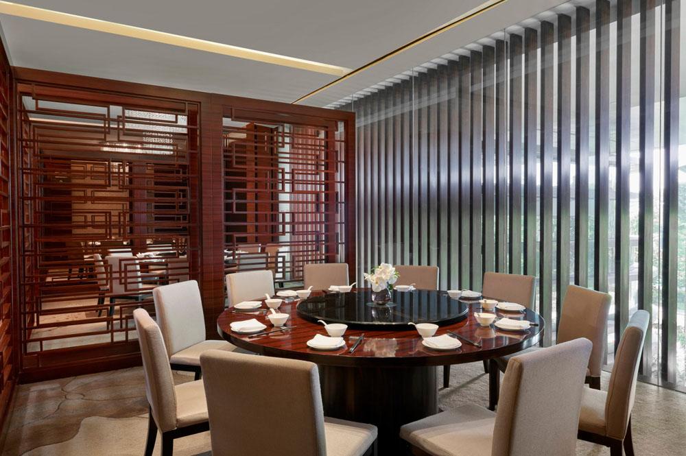 广交会威斯汀酒店中国元素餐厅