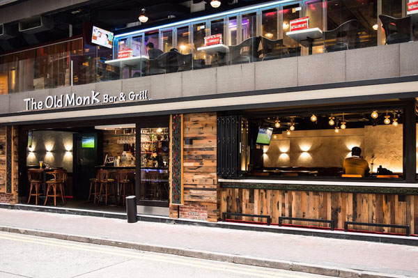 The Old Monk Bar & Grill