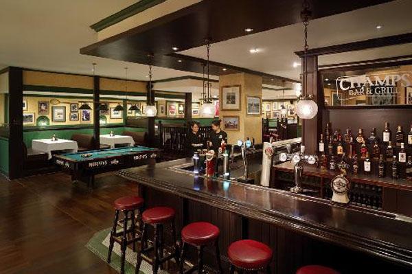 冠军餐厅酒吧-深圳香格里拉大酒店
