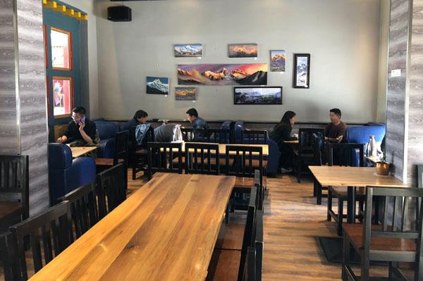 顶峰咖啡店